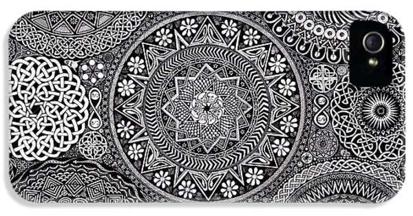Mandala Bouquet IPhone 5 / 5s Case by Matthew Ridgway