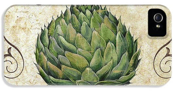 Mangia Artichoke IPhone 5 / 5s Case by Mindy Sommers