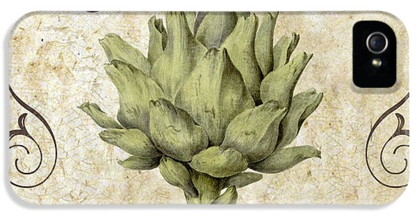 Mangia Carciofo Artichoke IPhone 5 / 5s Case by Mindy Sommers