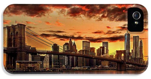 New iPhone 5 Cases - Manhattan BBQ iPhone 5 Case by Az Jackson