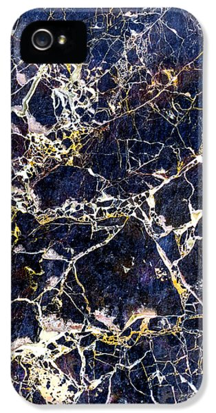 Marble Stone Texture Wall Tile IPhone 5 / 5s Case by John Williams