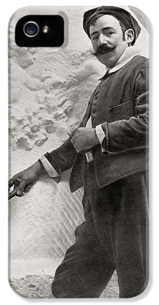Gil iPhone 5 Cases - Mariano Benlliure Y Gil, 1862-1947 iPhone 5 Case by Ken Welsh