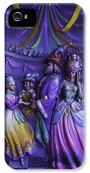 Masquerade iPhone 5 Cases - Masquerade Ball Mari Gras iPhone 5 Case by Garry Gay