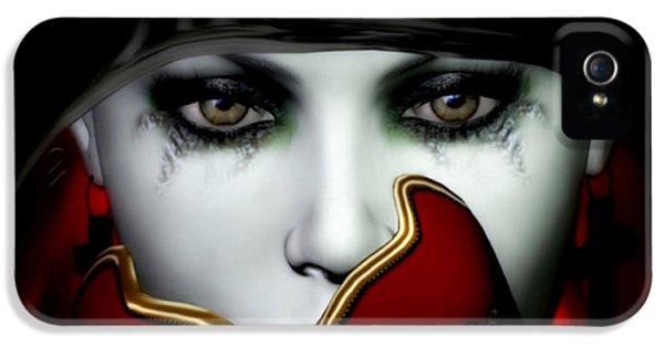 Masquerade iPhone 5 Cases - Masquerade iPhone 5 Case by Shanina Conway