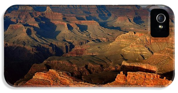National iPhone 5 Cases - Mather Point - Grand Canyon iPhone 5 Case by Stephen  Vecchiotti