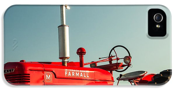 Mccormick-deering Farmall M IPhone 5 / 5s Case by Todd Klassy