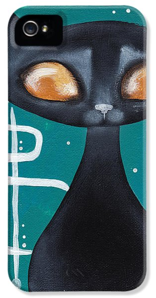 Mcm Cat IPhone 5 / 5s Case by Abril Andrade Griffith