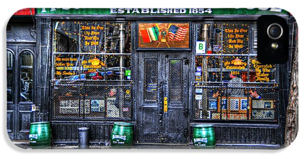 Mcsorley's  In Color IPhone 5 / 5s Case by Randy Aveille