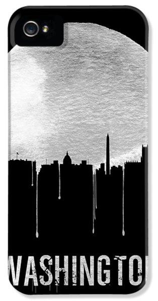 Memphis Skyline Black IPhone 5 / 5s Case by Naxart Studio