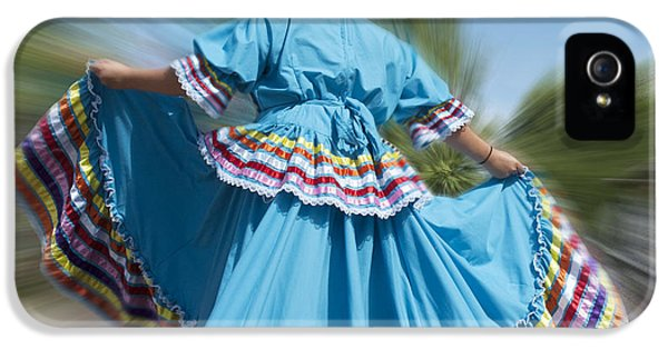 Ignacio iPhone 5 Cases - Mexican Dance iPhone 5 Case by Jerry McElroy