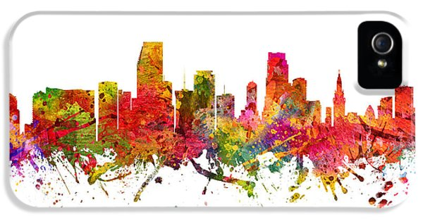 Miami Cityscape 08 IPhone 5 / 5s Case by Aged Pixel