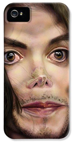 Mj iPhone 5 Cases - Michaels Magnum Opus 1 iPhone 5 Case by Reggie Duffie
