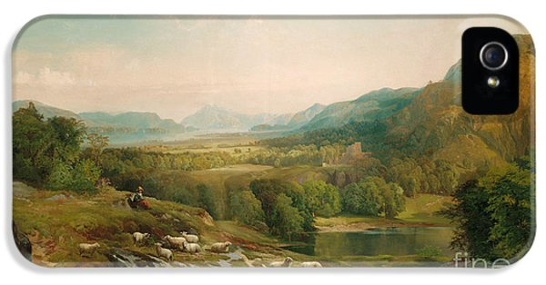 Minding The Flock IPhone 5 / 5s Case by Thomas Moran