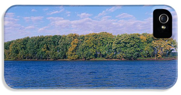 Mississippi River Along Great River IPhone 5 / 5s Case by Panoramic Images