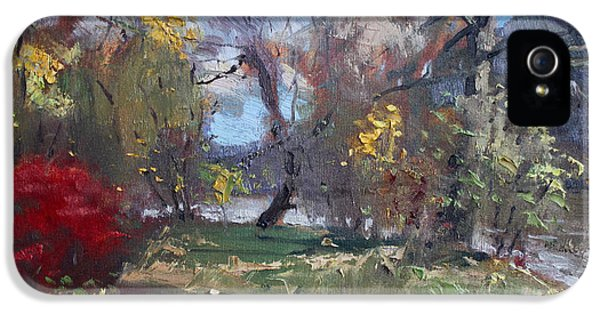 Mixed Weather In A Fall Afternoon IPhone 5 / 5s Case by Ylli Haruni