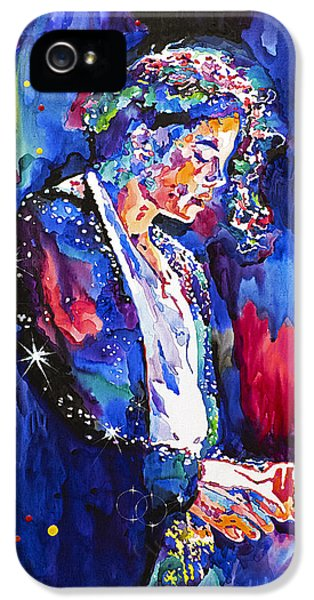 Michael Jackson iPhone 5 Cases - MJ Final Performance II iPhone 5 Case by David Lloyd Glover