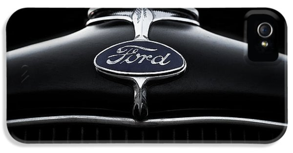 Badge iPhone 5 Cases - Model A Ford iPhone 5 Case by Douglas Pittman