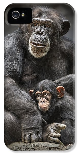 Mom And Baby IPhone 5 / 5s Case by Jamie Pham