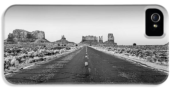 Monument iPhone 5 Cases - Freedom BW iPhone 5 Case by Az Jackson