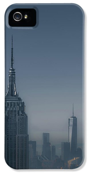 City iPhone 5 Cases - Morning in New York iPhone 5 Case by Chris Fletcher