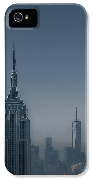 Architecture iPhone 5 Cases - Morning in New York iPhone 5 Case by Chris Fletcher