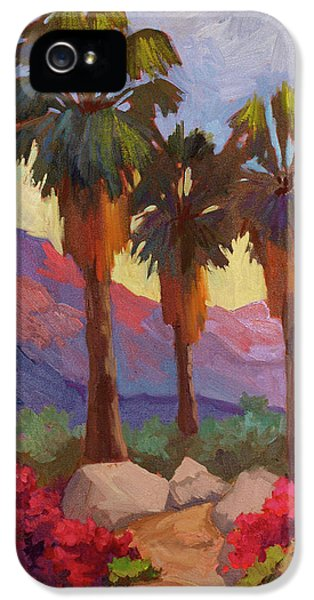 Morning Walk IPhone 5 / 5s Case by Diane McClary