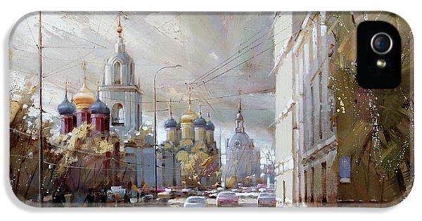 Moscow. Varvarka Street. IPhone 5 / 5s Case by Ramil Gappasov
