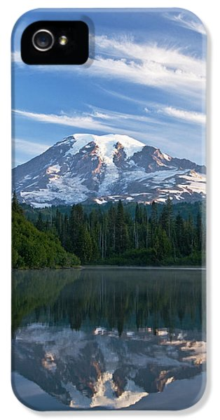 Mount Rainier Reflections IPhone 5 / 5s Case by Greg Vaughn - Printscapes