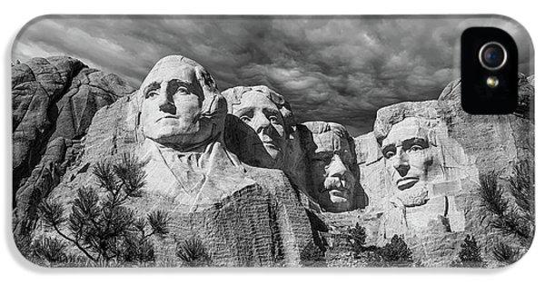 Mount Rushmore II IPhone 5 / 5s Case by Tom Mc Nemar