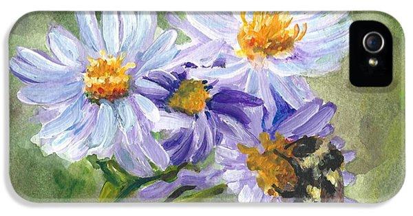 Mountain Flowers IPhone 5 / 5s Case by Lori Brackett