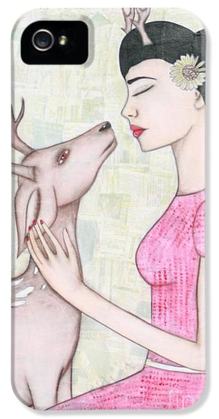 My Deer IPhone 5 / 5s Case by Natalie Briney