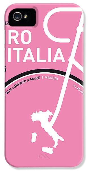 Competition iPhone 5 Cases - My Giro Ditalia Minimal Poster 2015 iPhone 5 Case by Chungkong Art