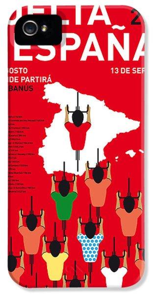 My Vuelta A Espana Minimal Poster Etapas 2015 IPhone 5 / 5s Case by Chungkong Art