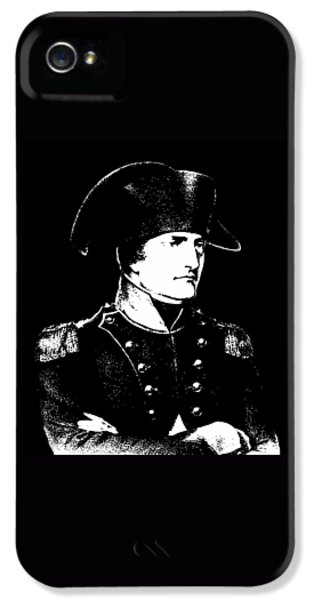 Memorial iPhone 5 Cases - Napoleon Bonaparte iPhone 5 Case by War Is Hell Store