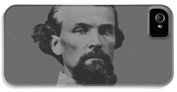 Forrest iPhone 5 Cases - Nathan Bedford Forrest iPhone 5 Case by War Is Hell Store
