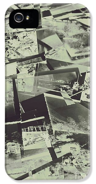 Negative Film Photo Background IPhone 5 / 5s Case by Jorgo Photography - Wall Art Gallery