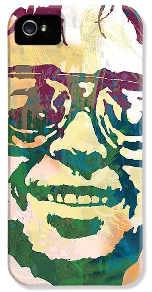 Neil Young Pop Stylised Art Poster IPhone 5 / 5s Case by Kim Wang
