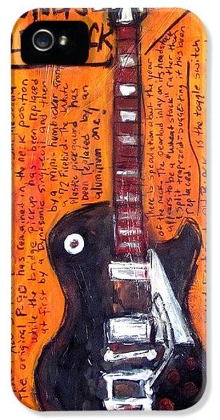 Neil Young's Old Black IPhone 5 / 5s Case by Karl Haglund