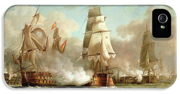 Neptune Engaging Trafalgar IPhone 5 / 5s Case by J Francis Sartorius