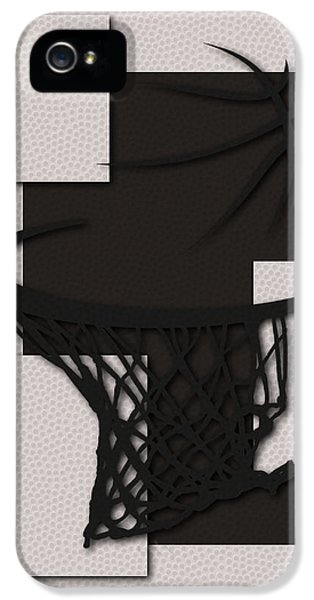 Net iPhone 5 Cases - Nets Hoop iPhone 5 Case by Joe Hamilton