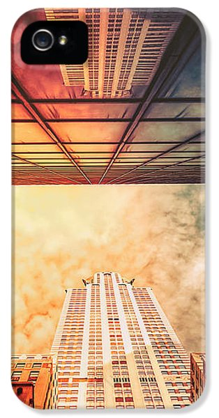 Scifi iPhone 5 Cases - New York City - Chrysler Building iPhone 5 Case by Vivienne Gucwa