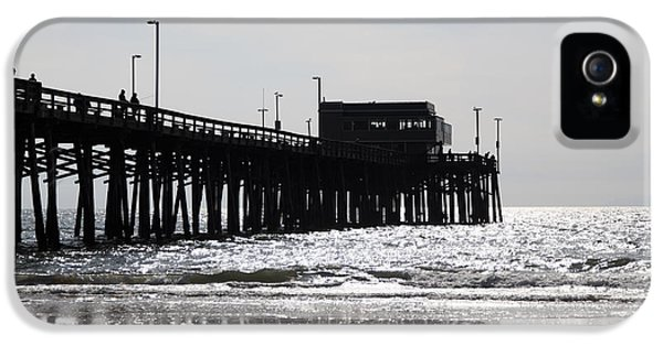 Balboa iPhone 5 Cases - Newport Pier iPhone 5 Case by Paul Velgos