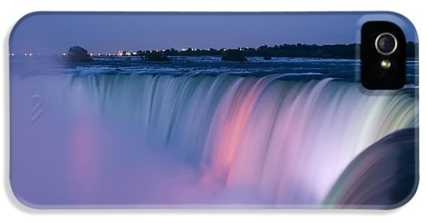 Canada iPhone 5 Cases - Niagara Falls at Dusk iPhone 5 Case by Adam Romanowicz
