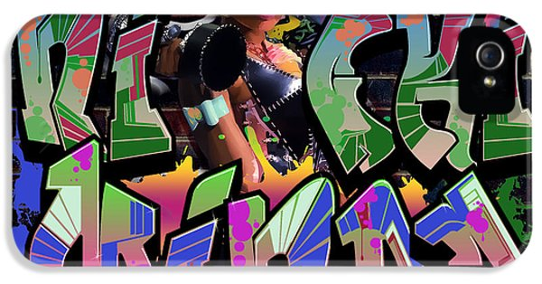 Nicki Minaj iPhone 5 Cases - Nicki Minaj Graffiti by GBS iPhone 5 Case by Anibal Diaz