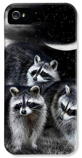 Night Bandits IPhone 5 / 5s Case by Carol Cavalaris