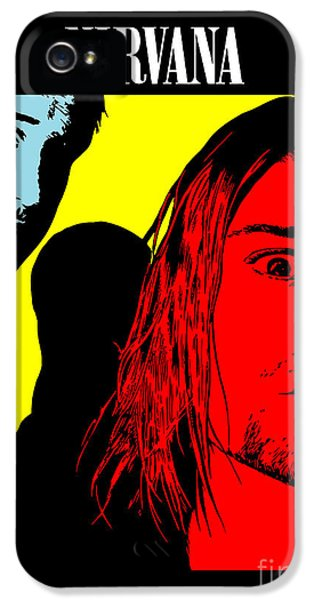 Nirvana iPhone 5 Cases - Nirvana No.01 iPhone 5 Case by Caio Caldas