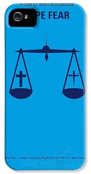 No014 My Cape Fear Minimal Movie Poster IPhone 5 / 5s Case by Chungkong Art