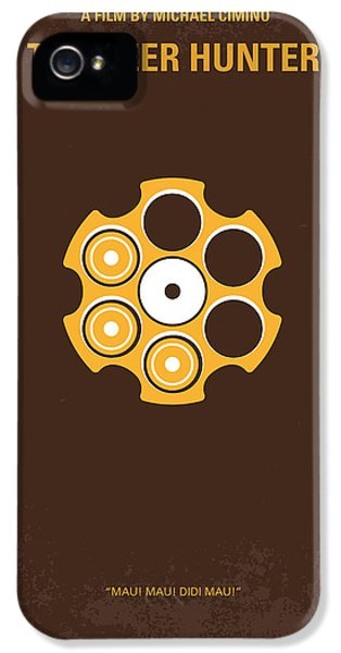 No019 My Deerhunter Minimal Movie Poster IPhone 5 / 5s Case by Chungkong Art