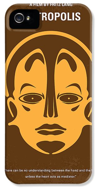 Future iPhone 5 Cases - No052 My Metropolis minimal movie poster iPhone 5 Case by Chungkong Art