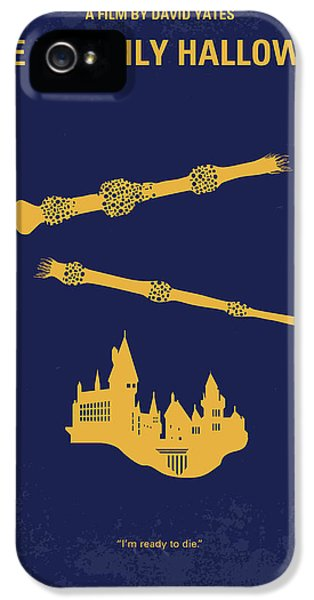 No101-8 My Hp - Deathly Hallows II Minimal Movie Poster IPhone 5 / 5s Case by Chungkong Art